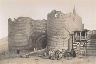 56. Porte de la Citadelle, au Kaire, 1843. Creator: Joseph Philibert Girault De Prangey.