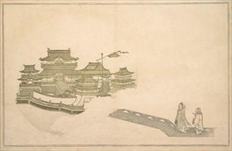 The Palace in the Moon, 8th month, 1789. Creator: Kitagawa Utamaro.