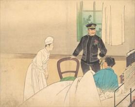 The Torpedo Officer (Suirai shikan), ca. 1900. Creator: Kajita Hanko.