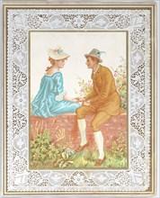 Valentine, 1876. Creator: Catherine Greenaway.