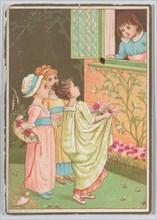 Valentine, 1883. Creator: Catherine Greenaway.