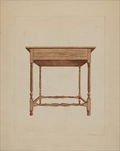 Table, 1935/1942. Creator: Frederick Jackson.