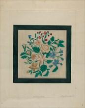 Embroidery Piece, c. 1936. Creator: Raymond Manupelli.