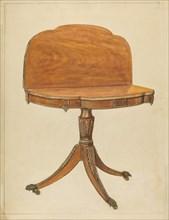 Card Table, 1935/1942. Creator: Nicholas Gorid.
