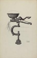 Sewing Bird, c. 1936. Creator: Frances Lichten.