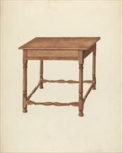 Table, c. 1953. Creator: Frederick Jackson.