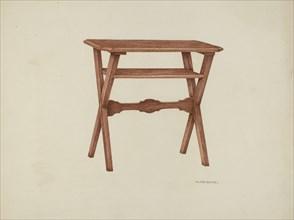Table, 1941. Creator: William Kieckhofel.