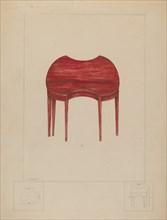 Card Table, c. 1936. Creator: Henry Meyers.