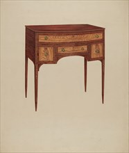 Dressing Table, c. 1938. Creator: Charles Henning.