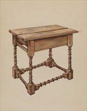 Tavern Table, c. 1936. Creator: Isadore Goldberg.