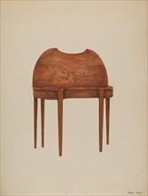 Card Table, c. 1937. Creator: Henry Meyers.