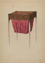 Sewing Table, c. 1936. Creator: Nicholas Gorid.