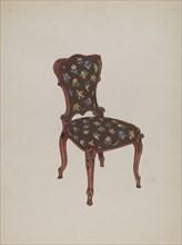 Chair, c. 1936. Creator: Florence Huston.