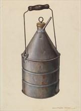 Oil Can, c. 1939. Creator: Leslie Macklem.