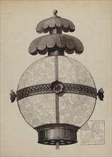Garden Lamp, c. 1937. Creator: Florence Huston.
