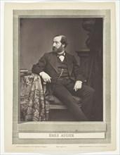 Émile Augier [French dramatist], 1876/84.  Creator: Antoine-Samuel Adam-Salomon.