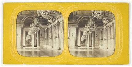 Salle des Gardes, 1875/99. Creator: Unknown.