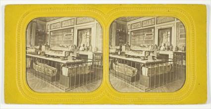 Salle des Sarcophages Egyptiens, Louvre, 1875/99. Creator: Unknown.