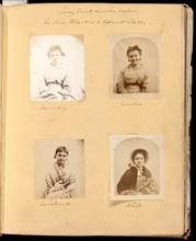 Untitled [Surrey County Lunatic Asylum - the Same Patient in 4 different States], 1849/60.  Creator: Hugh Welch Diamond.