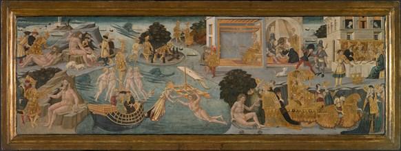 The Adventures of Ulysses, 1435/45. Creator: Apollonio di Giovanni di Tommaso.