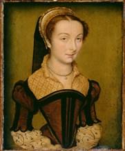 Portrait of Louise de Halluin, dame de Cipierre, c. 1555. Creator: Corneille de Lyon.