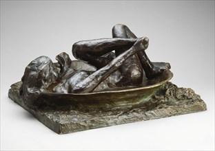 The Tub, modeled 1889 (cast 1919/21). Creator: Edgar Degas.