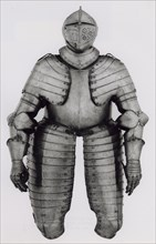 Elements of a Half Armor for Foot Tournament at the Barriers, Augsburg, c. 1590. Creator: Unknown.