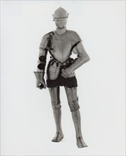 Elements of an Armor for the Joust in the Italian Fashion, Germany, c. 1570. Creator: Unknown.