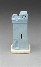 Chess Piece: Rook, Burslem, 19th century. Creator: Wedgwood.