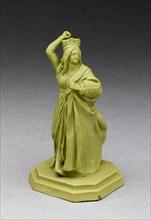 Chess Piece: Queen, Burslem, Late 18th century. Creator: Wedgwood.