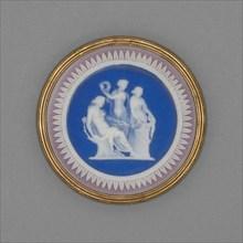 Medallion with Sacrifice to Hygieia, Burslem, Late 18th century. Creator: Wedgwood.
