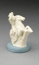Chess Piece: Knight, Burslem, 19th century. Creator: Wedgwood.