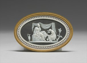 Friendship Consoling Affliction, Burslem, 1785/90. Creator: Wedgwood.