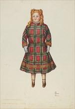 """Doll - """"Florence"""", c. 1941. Creators: Josephine C. Romano, Hal Blakeley."""