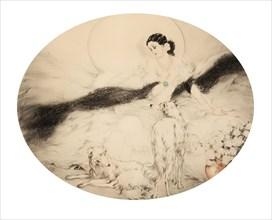 La Dame aux Camelias, 1927. Creator: Icart, Louis Justin Laurent (1888-1950).