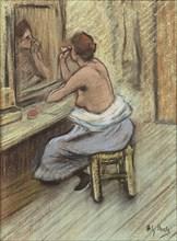 Mensonge (Lie), c. 1895. Creator: Ibels, Henri Gabriel (1867-1936).