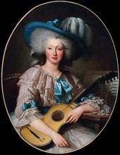 Portrait de Félicité-Louise de Frézals (1765-1854), née Esmangard de Beauval..., 1785. Creator: Anonymous.