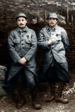 Les sapeurs Mauduit et Cadoret, 1915