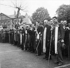 Célébration de la  Fête du Travail, le 1er mai 1941