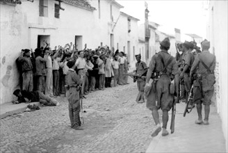 Spanish Civil War, July 1936