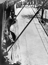 Entrée des troupes nationalistes dans Barcelone le 2 février 1939