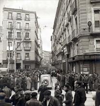 Madrid à la fin de la Guerre d'Espagne