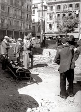 In the streets of Toledo, 1936