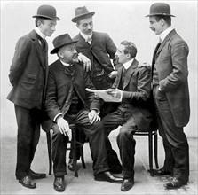 Syndicalistes, 1er mai 1907