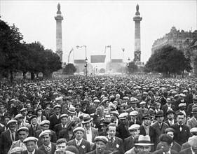 Manifestations syndicales du 1er mai 1937 à Paris