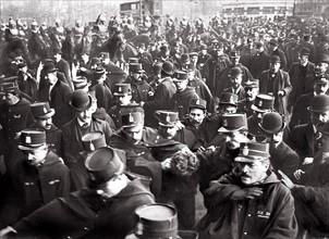 Arrestation de Jacob Law, le 1er mai 1907