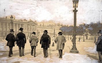 Manifestation du 1er mai 1890 à Paris