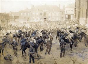 Manifestation du 1er mai 1891 à Fourmies