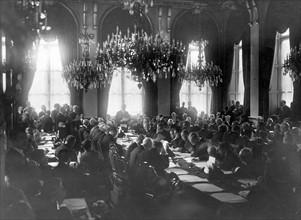Conférence de la Paix de Paris, 28 avril 1919