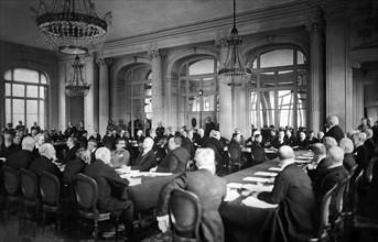 Conférence de Paix à Versailles, 7 mai 1919